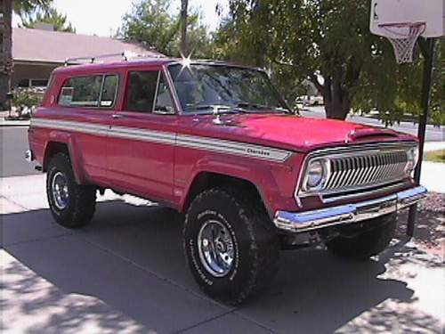 1978 Jeep Wagoneer Limited. 1978 Jeep Cherokee Super Chief